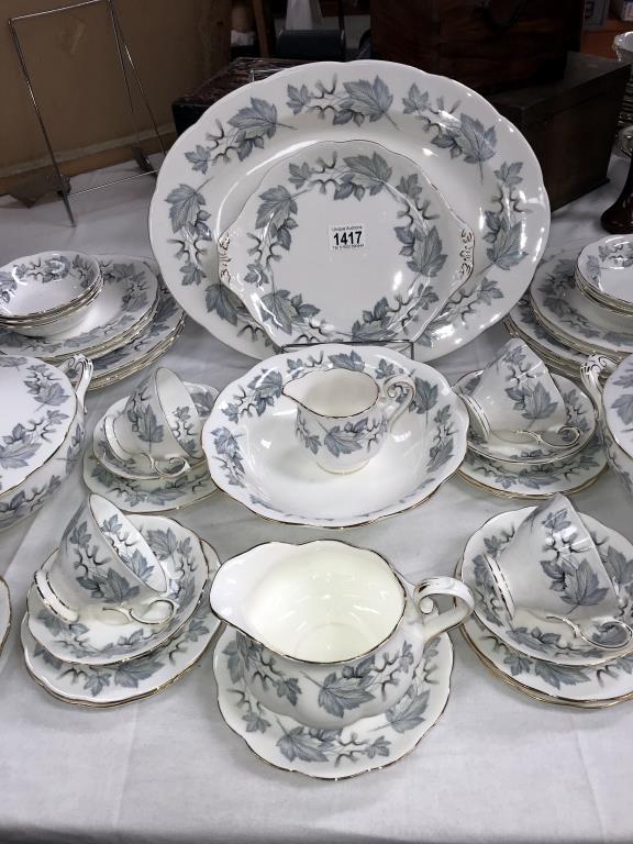 A 49 piece Royal Albert silver maple dinner & tea set - Image 3 of 5