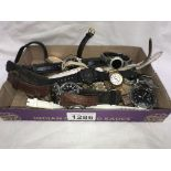 A mixed lot of ladies & gent's wristwatches