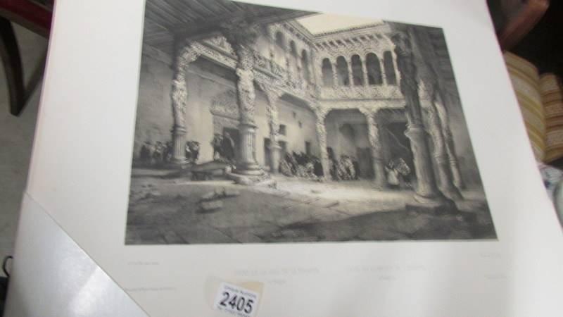A portfolio of Spanish prints 'Collection Casa De Ahorros'. - Image 2 of 5