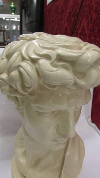 A Roman head bust. - Image 2 of 2