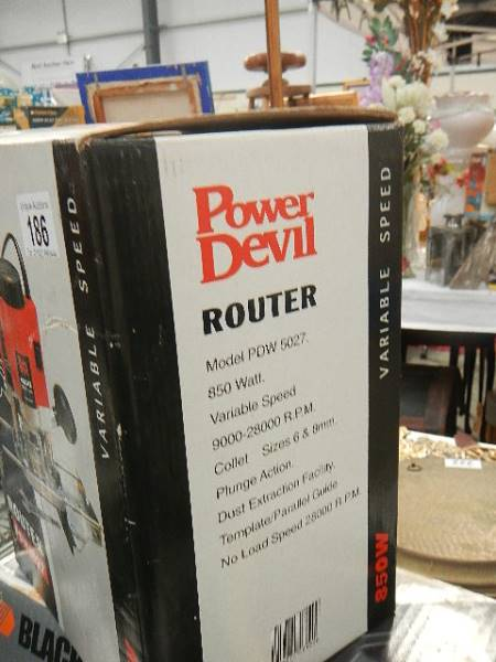A Power Devil router. - Image 2 of 2