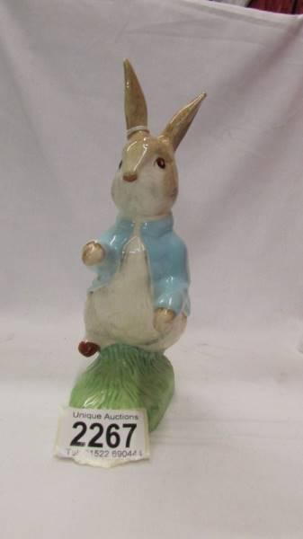 A large Beswick Peter Rabbit.