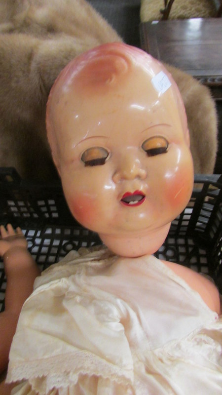 A vintage English doll, a/f. - Image 2 of 2