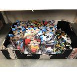 24 sealed Yo-Kai watch figures & quantity of loose figures including dinosaurs etc.