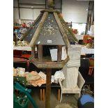 A large bird house.