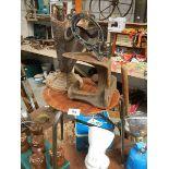 An old workshop stool etc.