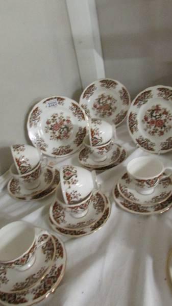 22 pieces of Colclough tea ware.