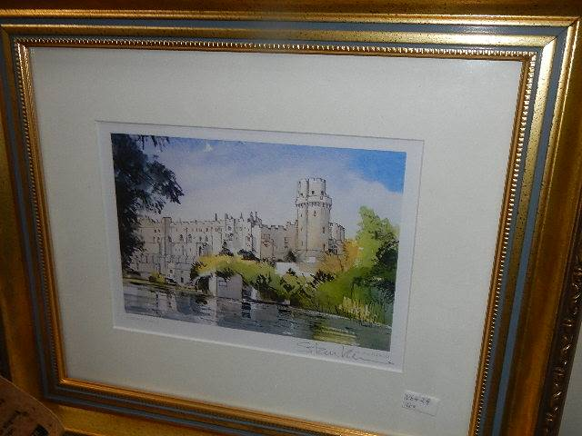A quantity of gilt framed pictures. - Image 5 of 5