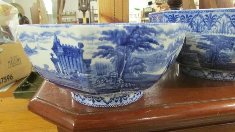 Three Cauldon blue and white bowls. - Image 2 of 5