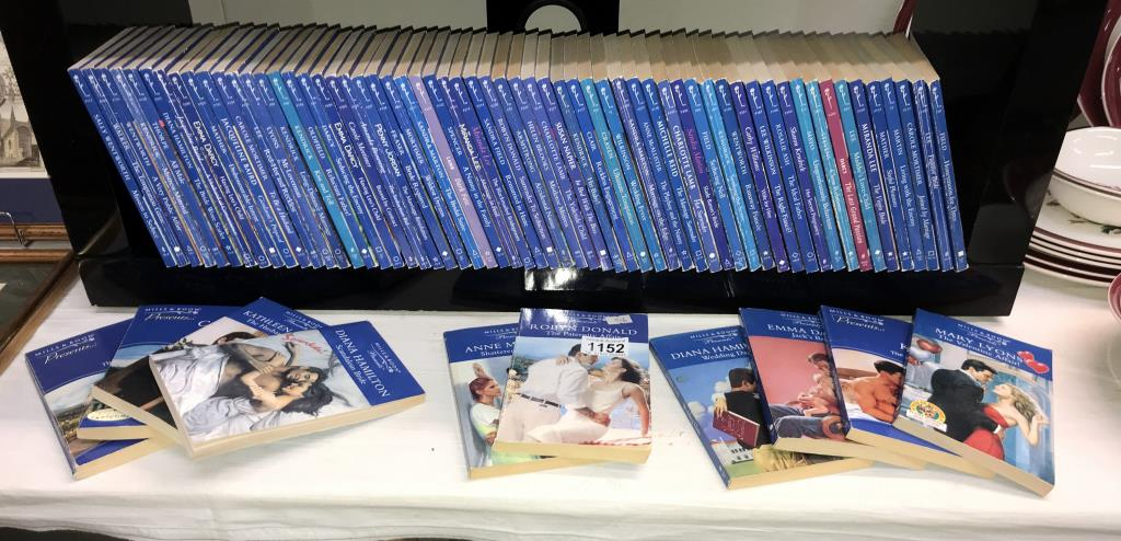 Approximately 70 Mills and Boon novels from the 90's and noughties