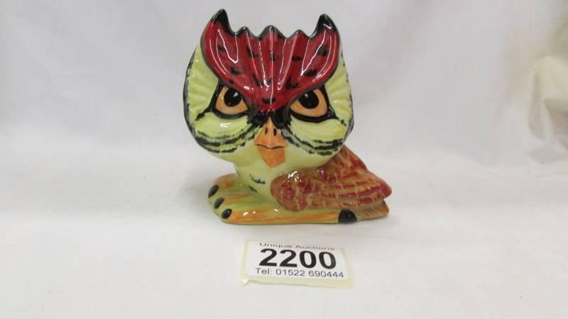 A signed Lorna Bailey 'Hooty' owl.