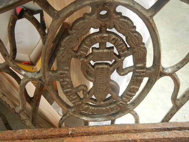 4 pieces of old iron work. - Image 2 of 3