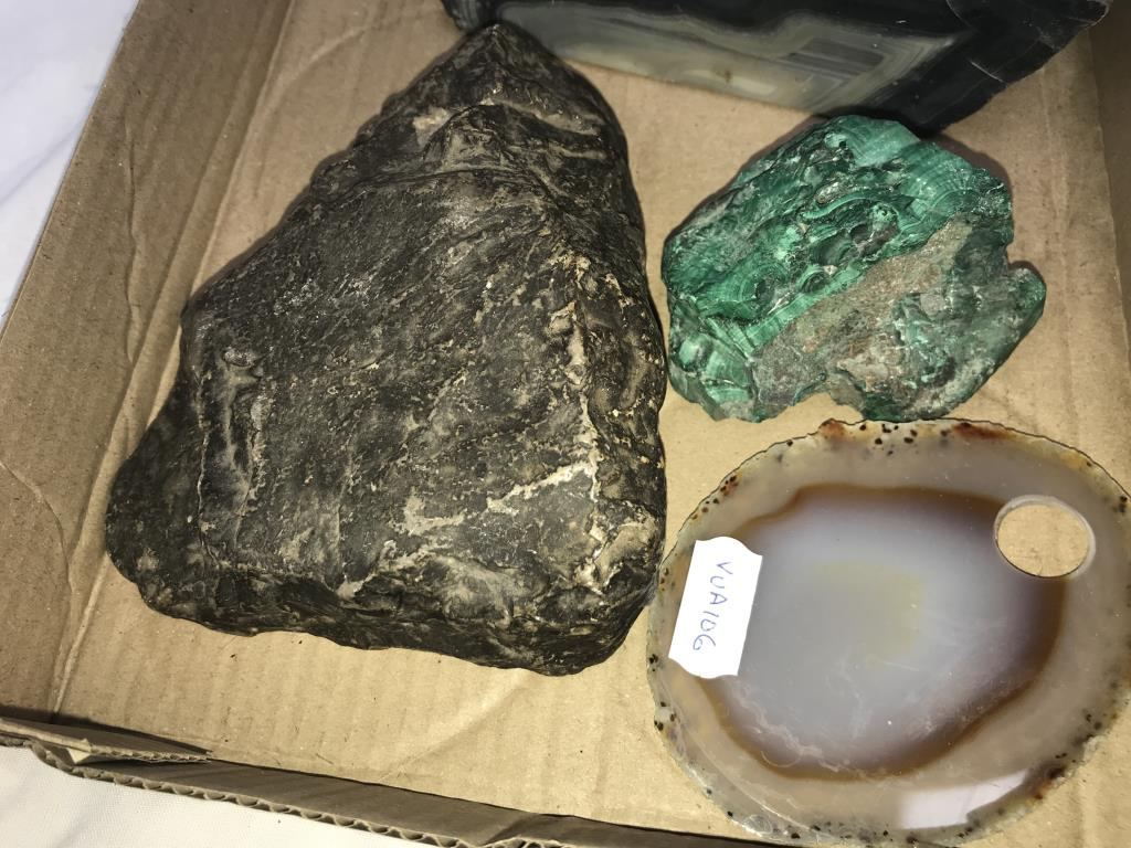 4 assorted minerals - Image 3 of 3