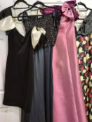 Two evening gowns,