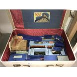 A boxed Hornby EDP11 passenger train set, silver king and quantity of goods wagons,