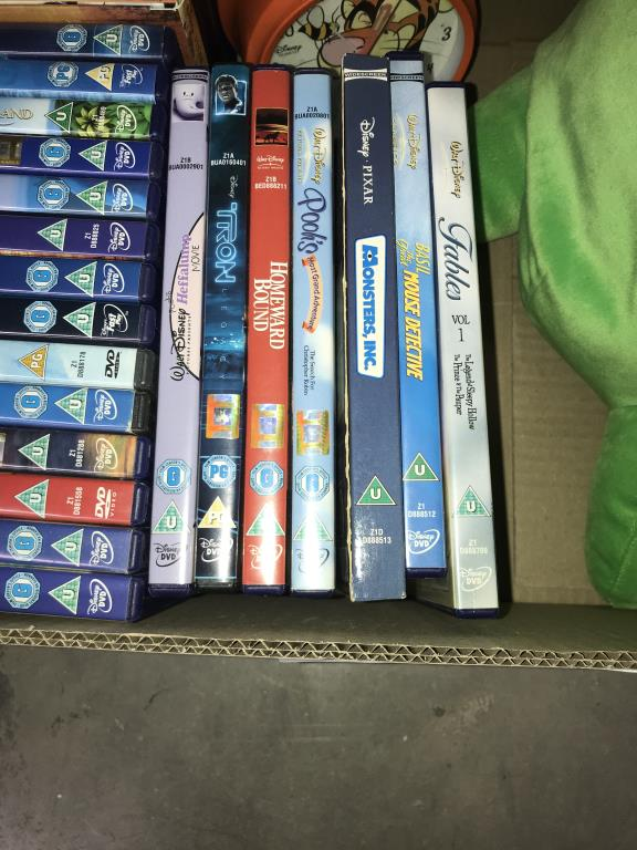 2 Disney cases & Disney DVD's, Flubber toy etc. - Image 5 of 7