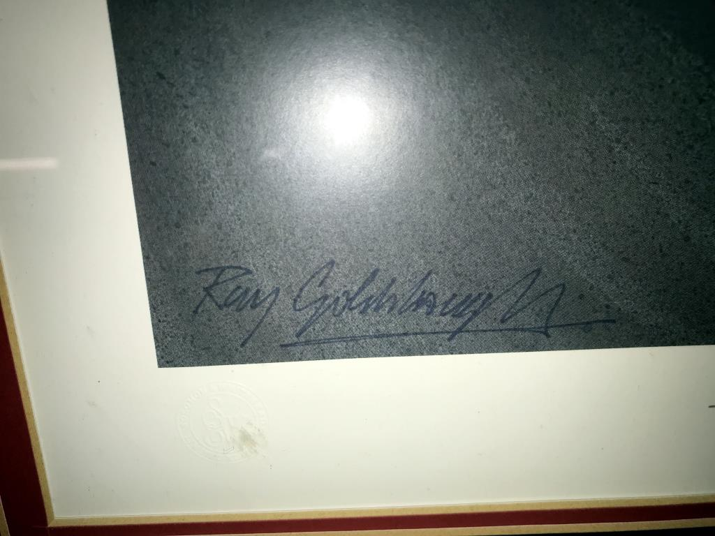 5 limited edition framed & glazed motorcycle pictures of Carl Fogarty. Signed C.F & Ray Goldsbrough. - Image 5 of 26