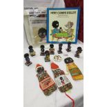Collection of circa late 1970's early 80's Robertson's Jam & Marmalade merchandise including a set