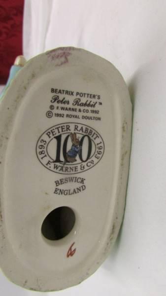 A large Beswick Peter Rabbit. - Image 3 of 3