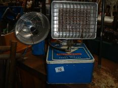 Two gas heaters etc.