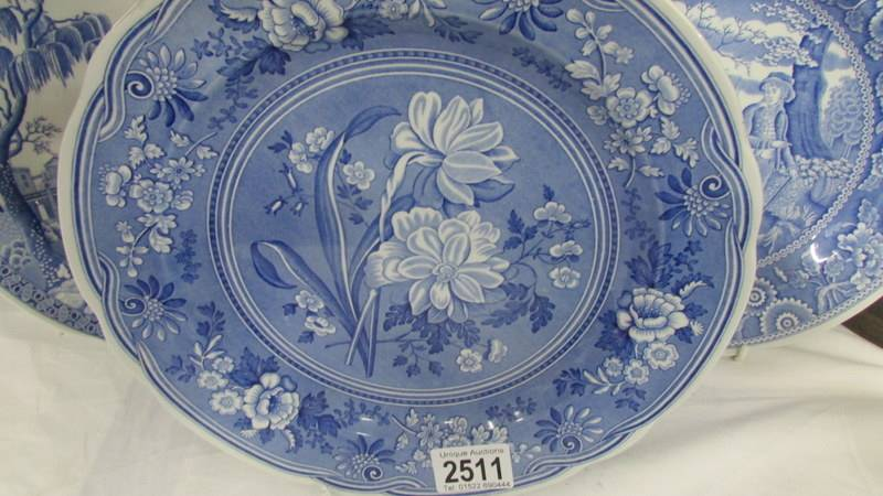 Three Spode blue and white plates. - Image 4 of 4