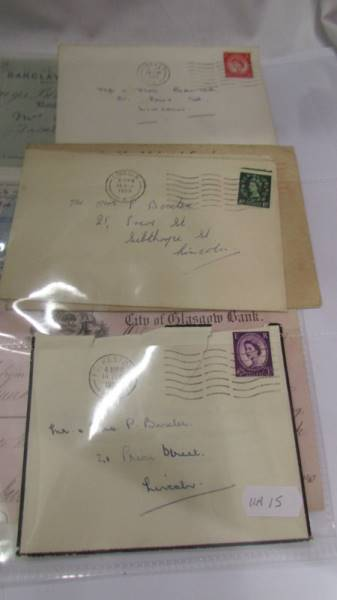 A collection of various bank cheques etc. - Image 2 of 5