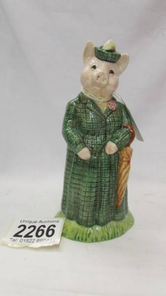 Two Beswick figurines - The Gentleman Pig and The Lady Pig. - Image 4 of 5