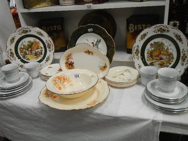 A good selection of china tea sets etc.