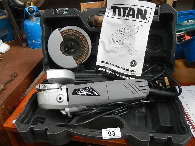 A Titan hand grinder.