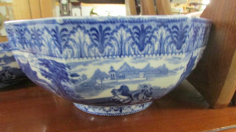 Three Cauldon blue and white bowls. - Image 3 of 5