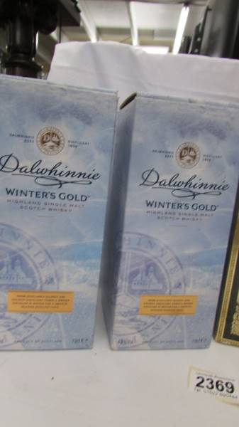 Four bottles of whisky - Two Dalwhinnie Winters Cold, - Image 4 of 4