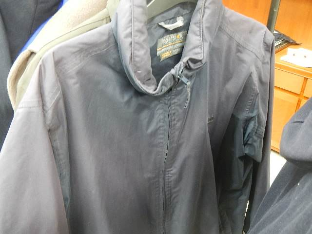 A rail of assorted suits, jackets and other clothing. - Image 2 of 11