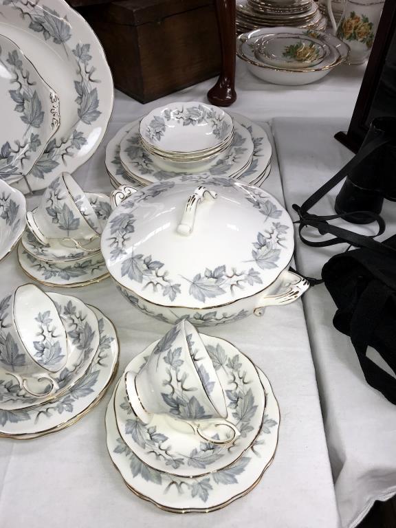 A 49 piece Royal Albert silver maple dinner & tea set - Image 4 of 5