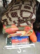 Airbeds, sleeping bags, foams etc.