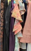 A large collection of garments of varying designs,