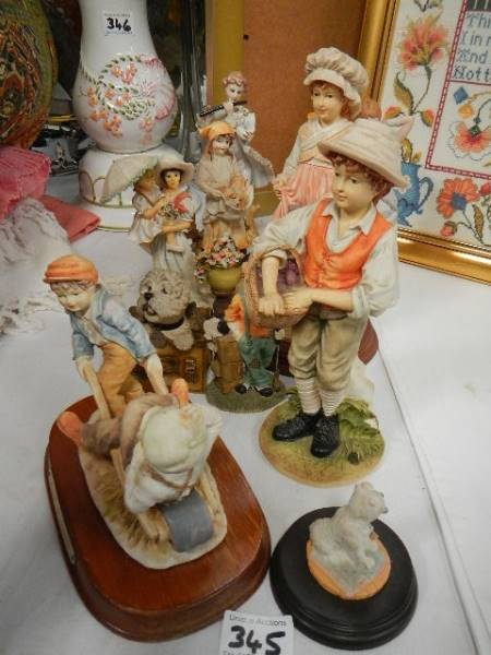 A quantity of figures all in good condition.