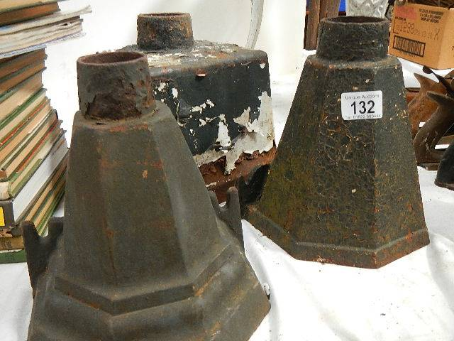 A quantity of cast hoppers. - Image 3 of 3