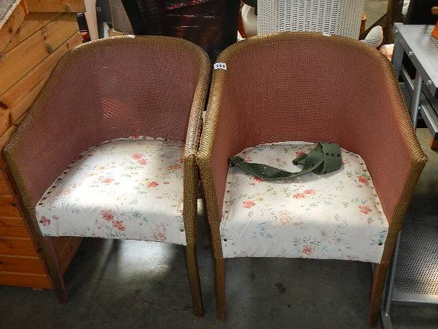 Two bedroom chairs.