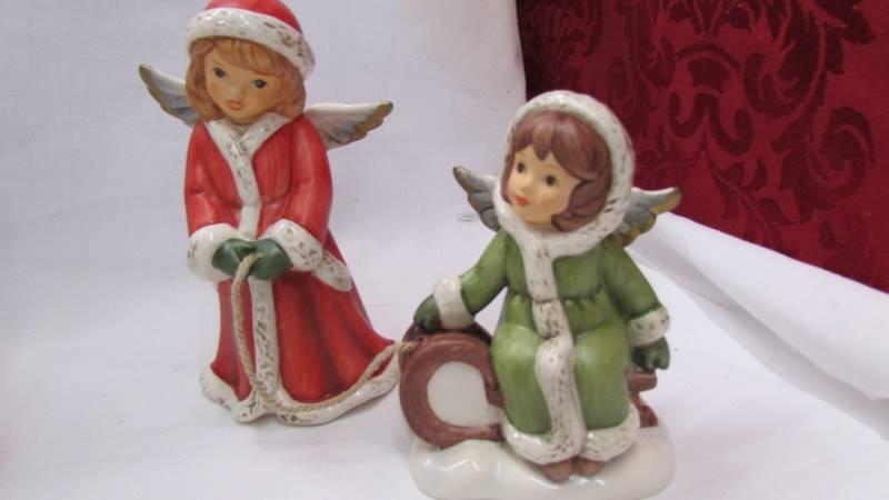 Siz Goebel/Hummel figurines. - Image 2 of 7