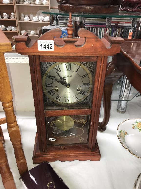 A Highlands 31 day wall/mantle clock