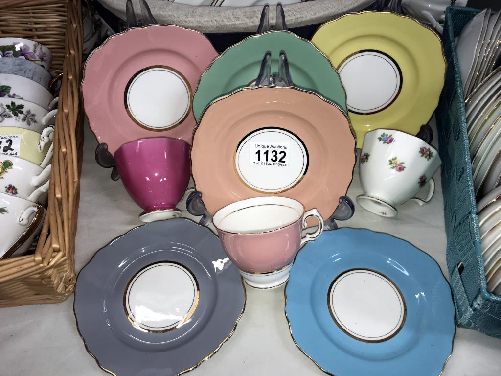 In excess of 170 pieces of crockery, plates, saucers and cups, - Image 5 of 7