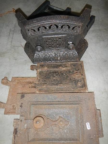 A quantity of cast fire appliance doors etc. - Image 3 of 3
