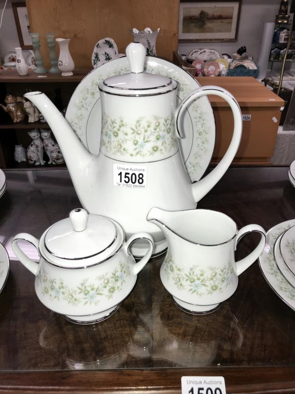 A Noritake Savannah 28 piece tea set - Image 3 of 5