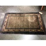 A handmade Indian rug from the Plantation Rug Co.