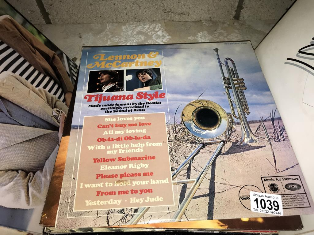 A quantity of LP records including Rod Stewart, Nelson Eddy, Gene Pitney, Country etc. - Image 2 of 5