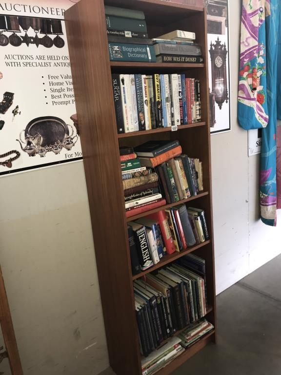 A large selection of books including reference, biographies etc.