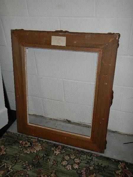 A good quality gilded picture frame, 73 x 84 cm. - Image 4 of 4