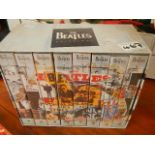 A boxed set of Beatles videos.