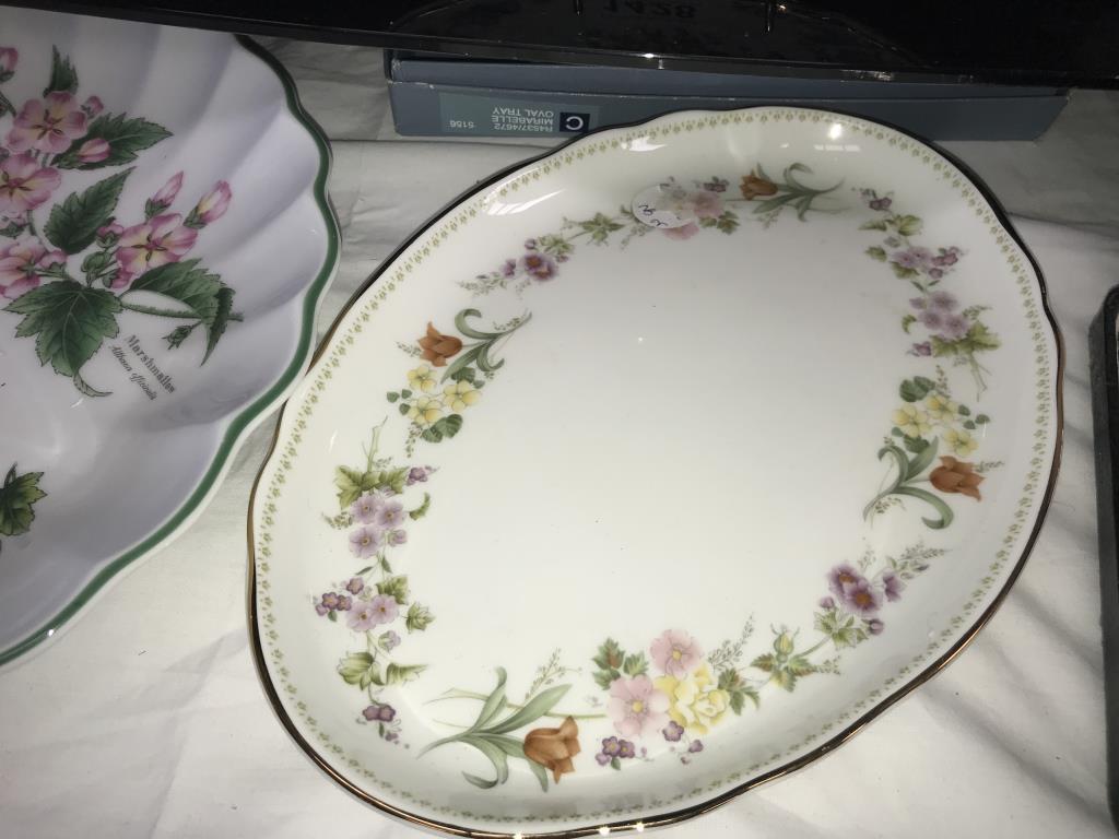 3 Aynsley & Royal Worcester herbs dish & Wedgwood etc. - Image 6 of 8