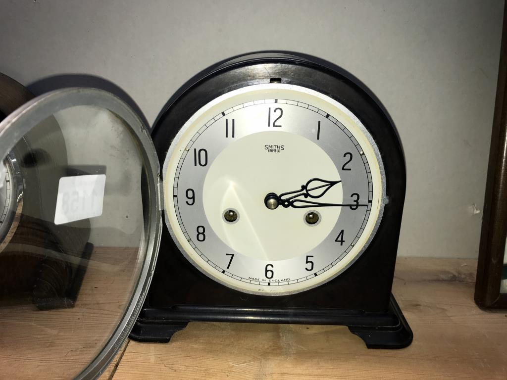 2 x 1930's Smiths mantle clocks, - Image 4 of 5